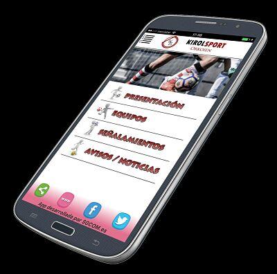 Nueva App del Kirol Sport